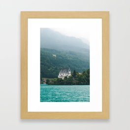 Iseltwald Switzerland Framed Art Print