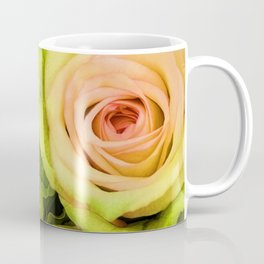 Green & Pink Bouquet Coffee Mug