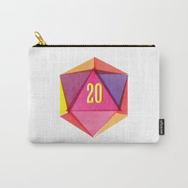 Rolling D20's Like A Big Shot  Carry-All Pouch