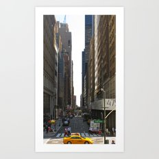 Fifth and 42nd Art Print