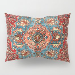 Bidjar Antique Kurdish Northwest Persian Rug Print Pillow Sham