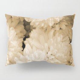 Monochrome Abstract Mums Pillow Sham