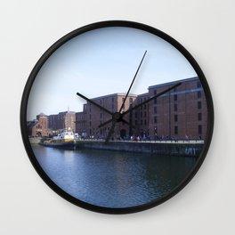 Pump house Pub and the Albert Dock Wall Clock