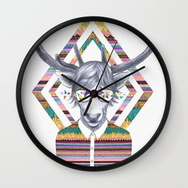 DREAMTAPES, created by Elena Mir and Kris Tate Wall Clock