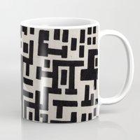 labyrinth Mugs featuring Love Labyrinth by Barruf designs