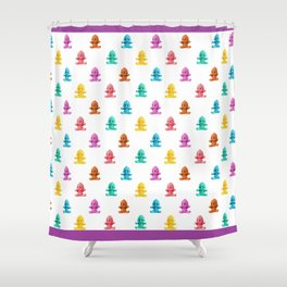 We Come in Many Colors Shower Curtain