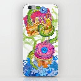 cupcake monster iPhone Skin