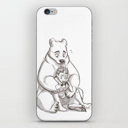 IRL teddybear iPhone Skin