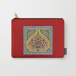 Lotus on Paan Carry-All Pouch