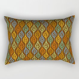 Autumn leaves pattern I Rectangular Pillow