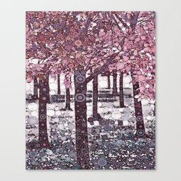:: Girl Trees :: Canvas Print