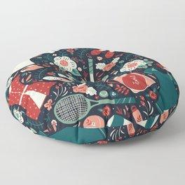 Tennis Style Floor Pillow
