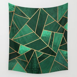 Emerald and Copper Wall Tapestry