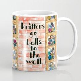 Balls to the Wall Coffee Mug