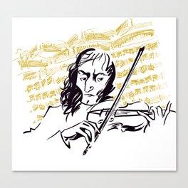 Paganini (3) Canvas Print