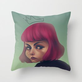 queenpink Throw Pillow