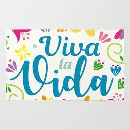 Viva la Vida Colorful Joyful Rug