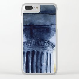 Doric order Clear iPhone Case
