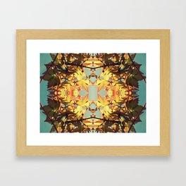Amber Reef Framed Art Print
