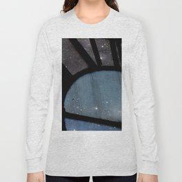 Starry Night - Clock Tower Long Sleeve T-shirt
