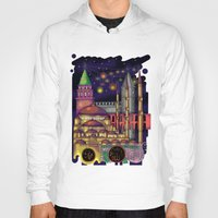 istanbul Hoodies featuring Istanbul  by Aleksandra Jevtovic