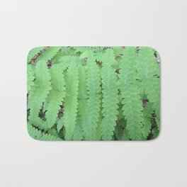 Fern Symmetry Bath Mat