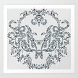 Killer Skull Art Print