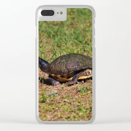 Jogging Turtle Style Clear iPhone Case