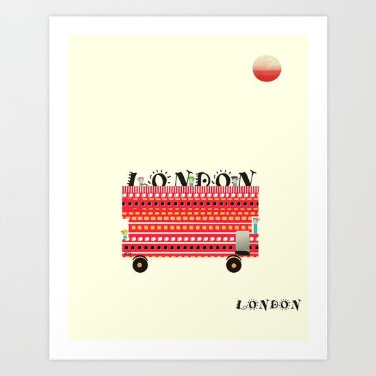 london mini icon  Art Print