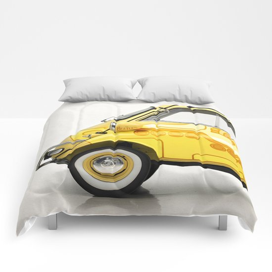 Yellow Submaretta Comforters