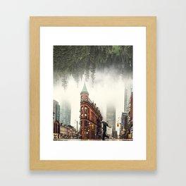 The Gooderham Forest Framed Art Print