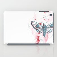 moth iPad Cases featuring Moth by Katré Eesmaa