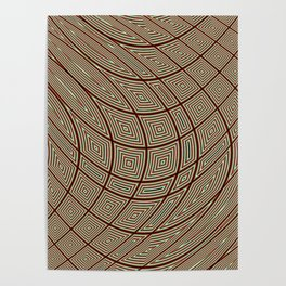 Squares Poster