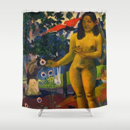 The Delightful Land Shower Curtain