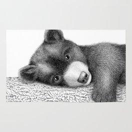 Sleepy bear Rug