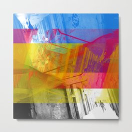 Or, how to traverse while leaving adequate traces? [CMYK] Metal Print