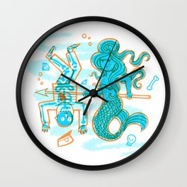 Save Our Seas Wall Clock