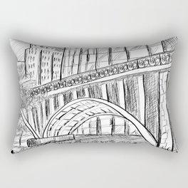 Townscape São Paulo - BR Rectangular Pillow