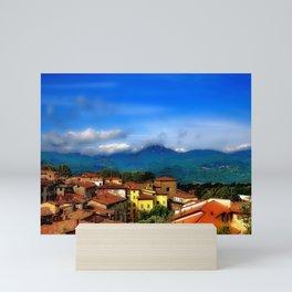 Barga, Italy Mini Art Print