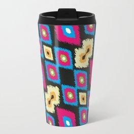 ikkat design pattern Travel Mug