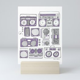 Boom Boxes Mini Art Print