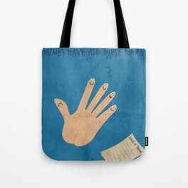 Rules Of Thumb Tote Bag
