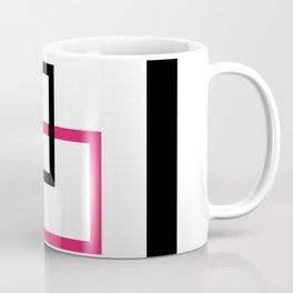 Minimalist squares interlocked Coffee Mug
