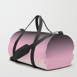 Black ,pink , cream , Ombre Duffle Bag