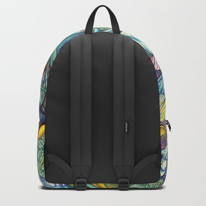 Compositions insect ( nightmare in summer ) Backpack