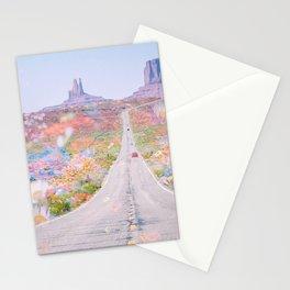 Desert Flowers Stationery Cards