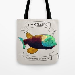 Barreleye Tote Bag