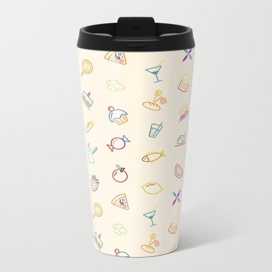 Kitchen Metal Travel Mug