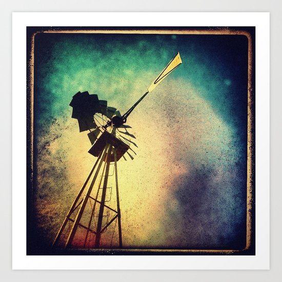 october sky Art Print