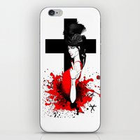 religion iPhone & iPod Skins featuring BAD RELIGION by Anna d'Ark